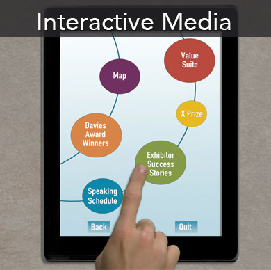Interactive touch screen presentations